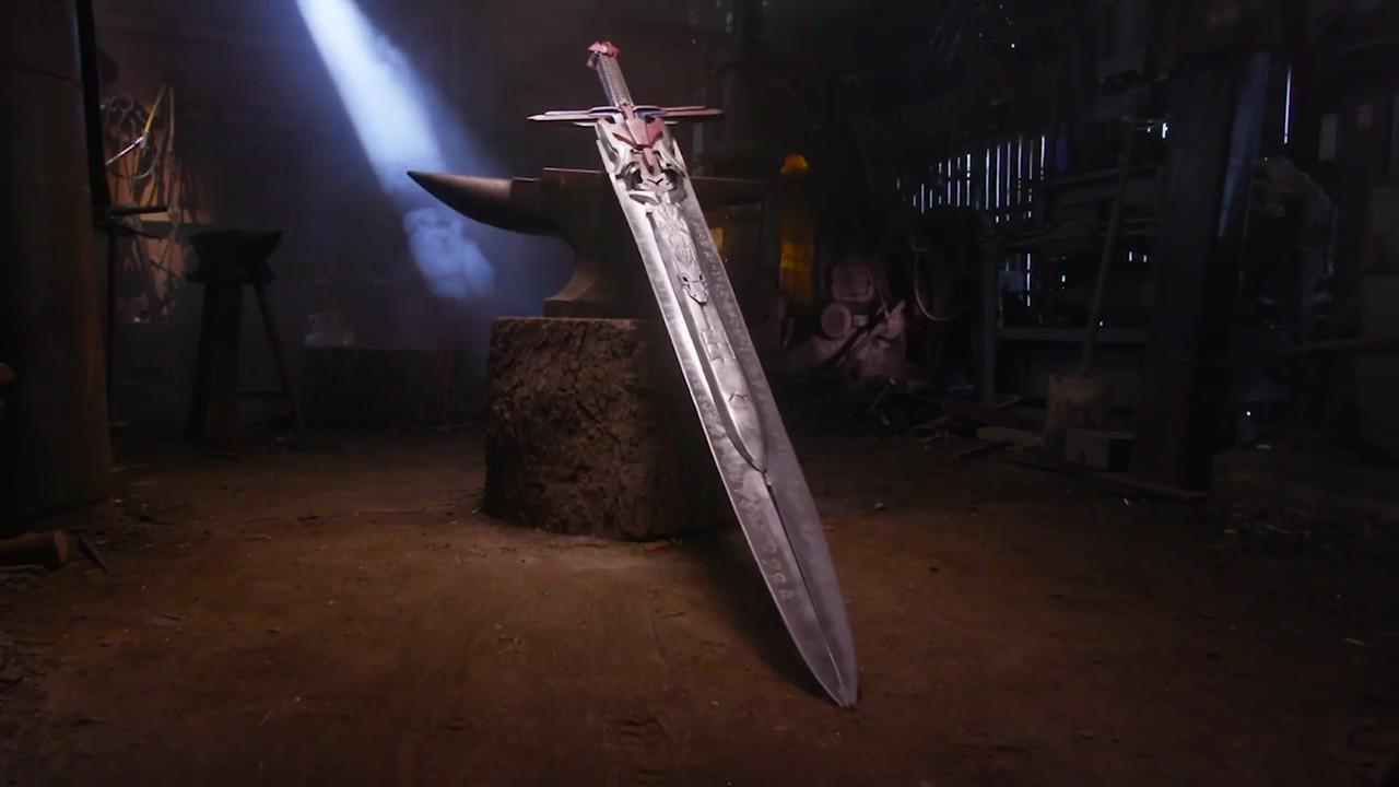 武器人间打造《变形金刚5:最后的骑士》擎天柱巨剑 太霸气了
