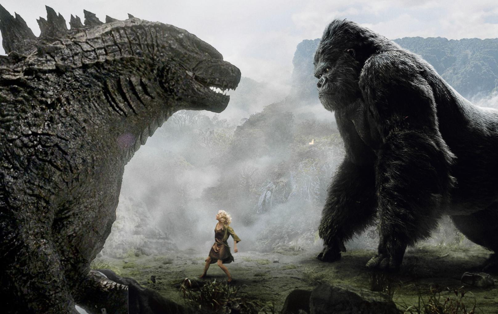 《金刚:骷髅岛》最新片段发布~ 史上最大金刚霸气登场