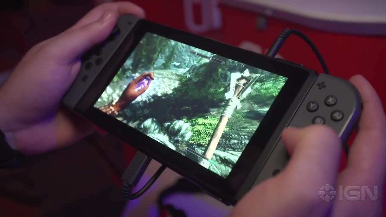 《上古卷轴5:天际》Switch版试玩视频 运行十分流畅